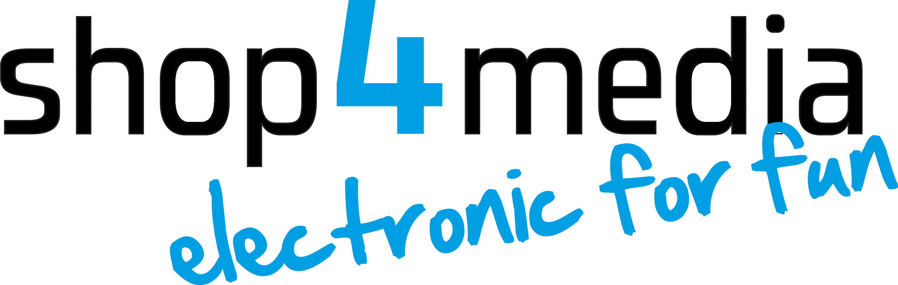 shop4media - electronic for fun-Logo