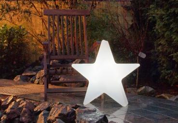 shop4media electronic for fun 8 seasons shining star mini 40 cm indoor outdoor wei 32349. Black Bedroom Furniture Sets. Home Design Ideas