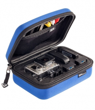 P.O.V. CASE 3.0 XS blue suitable for gopro® hero2, 3, 3+, von SP GADGETS 53031 3665-012