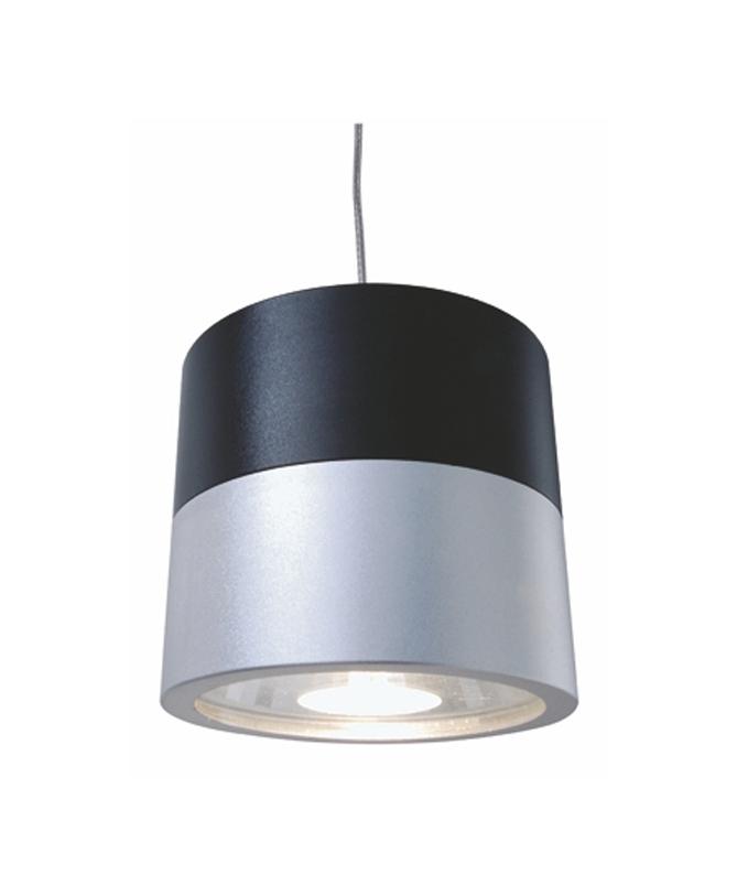 shop4media electronic for fun pendelleuchte cana aluminium silber schwarz 35 watt. Black Bedroom Furniture Sets. Home Design Ideas