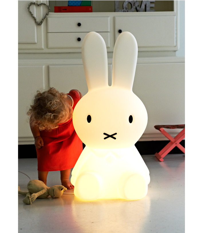 shop4media electronic for fun mr maria miffy xl lampe led stehleuchte bodenleuchte mrmar001. Black Bedroom Furniture Sets. Home Design Ideas